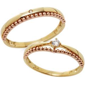 CS05308 에일리 Yellow & Pink Gold